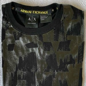 ARMANI EXCHANGE Mens Long Sleeve T-Shirt